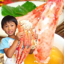 2015楽天年間ランキング食品部門第1位の「特大タラバ蟹」