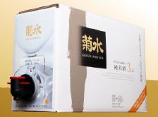 2年連続楽天グルメ大賞入賞!冷蔵庫にピッタリ収まる、3000ml大容量純米ボックス!
