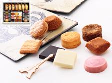 風味や食感の違いを楽しめるプティ・タ・プティに、当店人気の焼き菓子を詰め合せ。