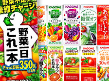 【送料無料】10種類以上から選べる4種!カゴメ野菜ジュース48本セット 季節限定品も