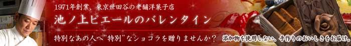 【楽天市場】池ノ上ピエール バレンタイン特集2013