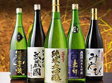 5酒蔵の純米大吟醸飲みくらべ一升瓶5本組 純米大吟醸