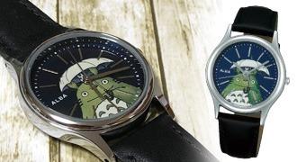 トトロの腕時計でお出かけ時も一緒