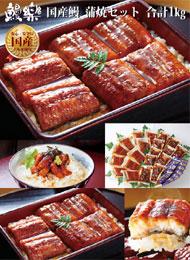 鹿児島・宮崎県産のうなぎを使用!冷凍から1食ずつ湯煎で便利な豪華1Kgセット