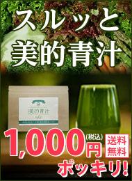 飲むだけ劇的スリム体験!美味しいダイエット専用青汁が1,000円ポッキリで