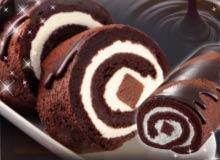チョコを知り尽くしたショコラティエが開発チョコたっぷり贅沢なロールケーキ