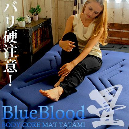 \バリ硬注意!/寝ながら正しい姿勢を取り戻す!体幹が目覚める!BluebloodボディコアマットTATAMI