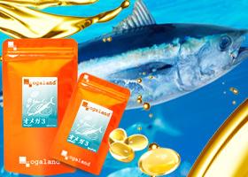 魚食べてる?話題の成分!オメガ3「DHA&EPA」配合!