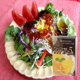 海藻生まれの食物繊維でヘルシー、便利で簡単おいしい料理の素