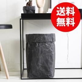 デザインと使い勝手を兼ね備えた紙製の収納ボックス