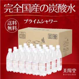 九州の天然水を使用した完全国産の炭酸水 500ml×24本 送料無料