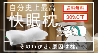 【30%OFF】★楽天一位入賞★話題のいびき防止枕