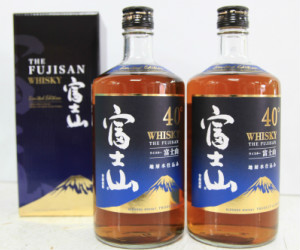 香り高く味わい豊かな富士山ウイスキー2本セット